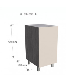Laundry basket cabinet with drawer. Standing